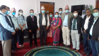 नेपाल बैंक लिमिटेड तथा लिसंखु पाखर गाउँपालिकाबीच सम्झौता