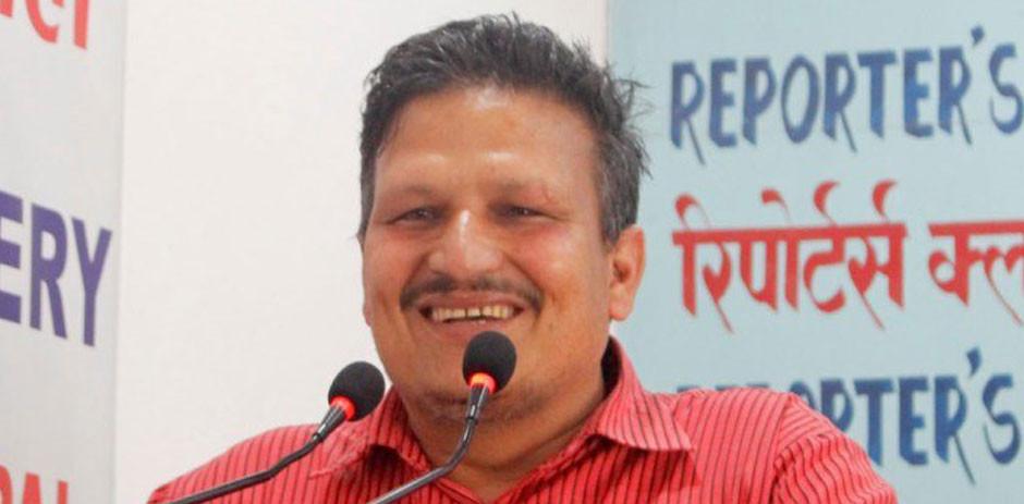 'प्रेस संगठन नेपाल'का संयोजक महेश्वर दाहाललाई कोरोना संक्रमण