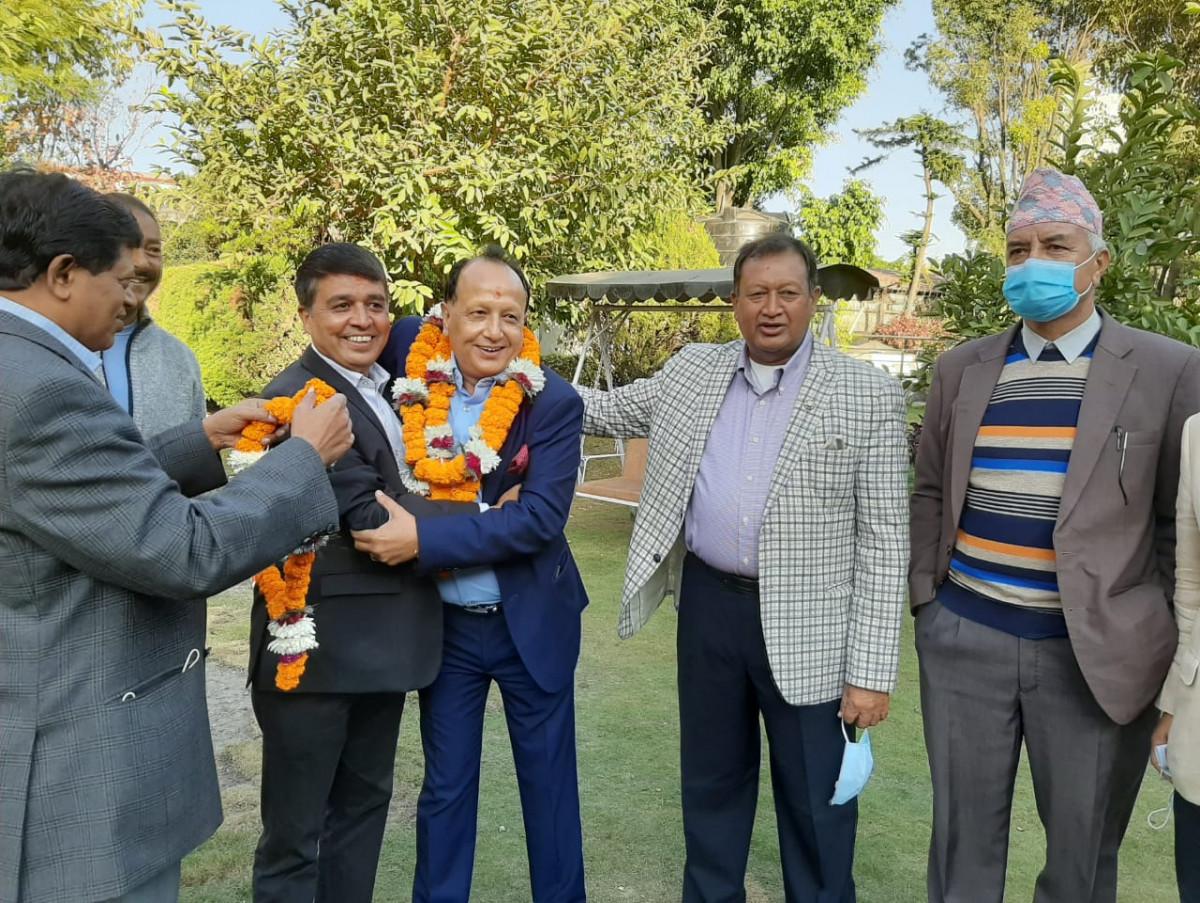 ढकाल प्यानलको विजयी यात्रा सुरु :  दुई केन्द्रीय सदस्य निर्विरोध निर्वाचित