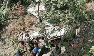 गुल्मी जिप दुर्घटनामा मृतकको संख्या ६ पुग्यो