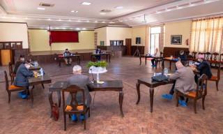 नेकपा सचिवालय बैठक बालुवाटारमा सुरु
