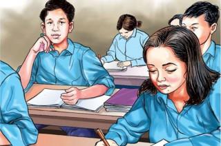 कक्षा १२ को परीक्षामा बेथिति : प्रश्नपत्र आउट, मोबाइलमार्फत चिटिङ, परीक्षा हलमै टिकटक बनाएर  पोस्ट
